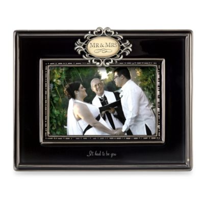 mr and mrs ceramic frame - Mr And Mrs Picture Frame