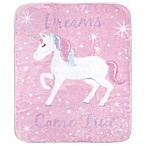 Hudson Baby® Magical Unicorn Baby Blanket in Pink