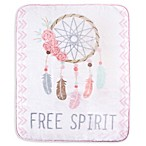 Hudson Baby® Dream Catcher Baby Blanket in White