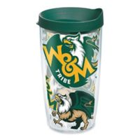 Tervis® College of William and Mary Tribe All Over 16 oz. Wrap Tumbler with Lid