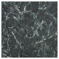 Achim Majestic 10-Pack 18-Inch Self-Stick Floor Tiles in Verde Green Marble