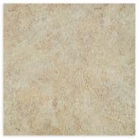 Achim Majestic 10-Pack 18-Inch Self-Stick Floor Tiles in Ghibili Beige Granite