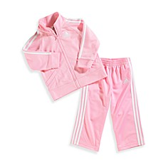 Adidas® Kids Light Pink Tricot Tracksuit