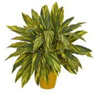 Nearly Natural Artificial Tradescantia Plant in Planter