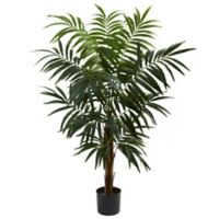 Nearly Natural 4.5-Foot Bulb Areca Artificial Tree