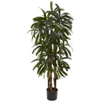 Nearly Natural 4-Foot Raphis Artificial Palm Tree