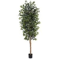 Nearly Natural 8-Foot Artifical Ficus Tree