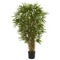 Nearly Natural 4-Foot Artificial Twiggy Bamboo Tree in Planter