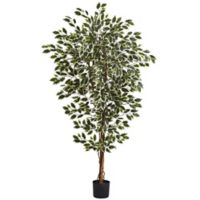 Nearly Natural 6-Foot Artificial Hawaiian Ficus Tree