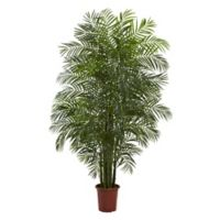 Nearly Natural 7.5-Foot Artificial Indoor/Outdoor Areca Palm Tree
