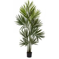 Nearly Natural 7-Foot Kentia Palm Tree