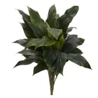 Nearly Natural 32-Inch Artificial Green Cordyline Plant (Set of 3)