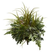 Nearly Natural Artificial Mixed Green Plants (Set of 2)