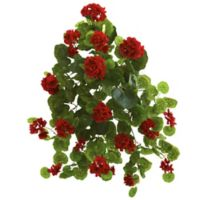 Nearly Natural Artificial Geranium Plants (Set of 2)