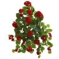Nearly Natural Artificial Geranium Plants (Set of 2)