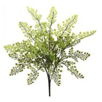 Nearly Natural 15-Inch Maidenhair Fern Bunch (Set of 12)