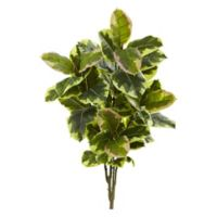 Nearly Natural Real Touch 40-Inch Rubber Leaf Plants (Set of 2)