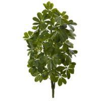 Nearly Natural Real Touch 32-Inch Baby Schefflera Plants (Set of 2)