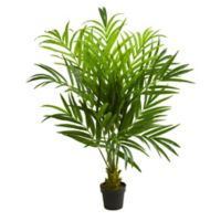 Nearly Natural 5-Foot Artificial Kentia Palm Tree in Planter