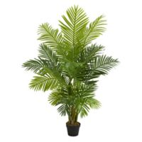 Nearly Natural 5-Foot Artificial Hawaii Palm Tree in Planter