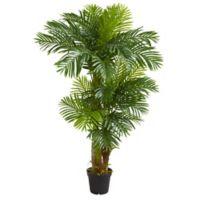Nearly Natural 6-Foot Artificial Hawaiian Palm Tree
