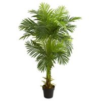 Nearly Natural 5-Foot Double Stalk Hawaii Palm Tree