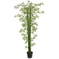 Nearly Natural 8-Foot Bamboo Artificial Tree
