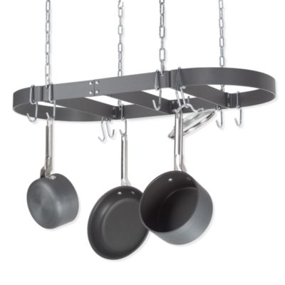 calphalon edition oval ceiling pot rack