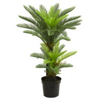 Nearly Natural 4.5-Foot Double Potted Cycas Tree