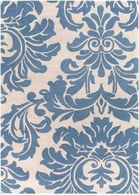 Surya Athena Medallion 8' x 11' Hand Tufted Area Rug in Blue
