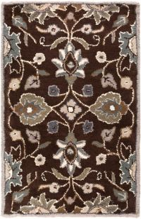 Surya Caesar 2' x 3' Hand Tufted Area Rug in Brown/Taupe