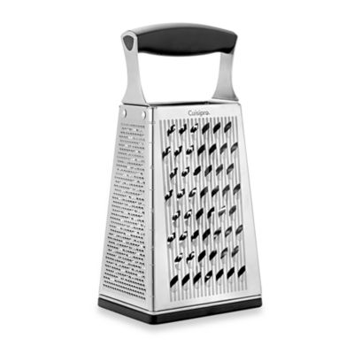 Cuisipro 4 Sided Boxed Grater With Ginger Grater