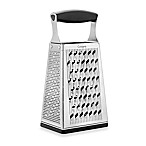 Cuisipro 4-Sided Boxed Grater with Ginger Grater