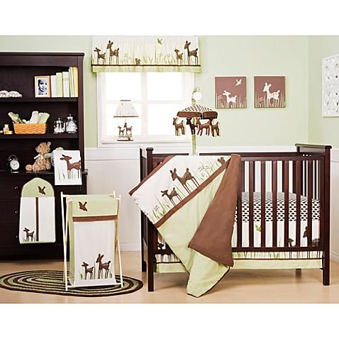 Kidsline Willow 4 Piece Crib Bedding Set And