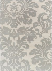 Surya Athena Medallion 8' x 11' Hand Tufted Area Rug in Taupe/Gold