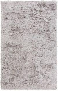 Surya Stealth 8' x 11' Shag Area Rug in Light Grey