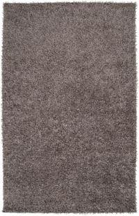 Surya Taz 8' x 10' Shag Area Rug in Medium Grey