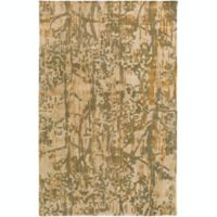 Surya Zephyr 2' x 3' Hand Tufted Accent Rug in Green/Tan