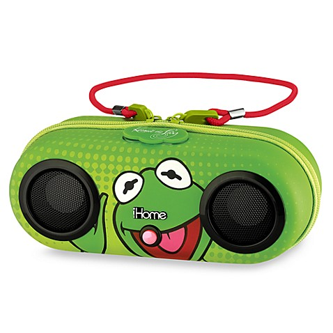 iHome® Disney Loves Portable Water-Resistant Stereo Speaker System in Kermit The Frog
