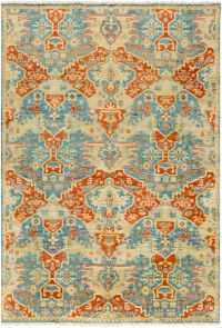 Surya Antolya Classic 2' x 3' Accent Rug in Sky Blue