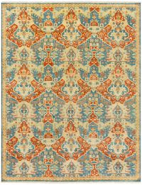 Surya Antolya Classic 8' x 11' Area Rug in Sky Blue