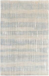 Surya Luminous Stripe 2' x 3' Accent Rug in Teal/Tan