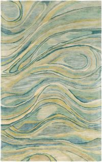 Surya Natural Affinity Abstract 8' x 10' Area Rug in Sage