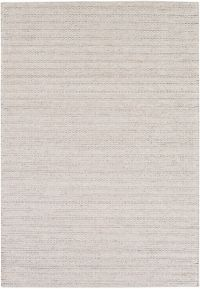 Surya Kindred 5' x 7'6 Handwoven Braided Area Rug in Light Grey