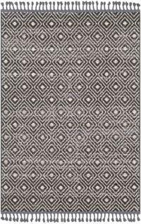 Surya Restoration Distressed 5' x 7'3 Area Rug in Charcoal