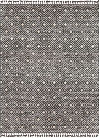 Surya Restoration Distressed 7'10 x 10' Area Rug in Charcoal