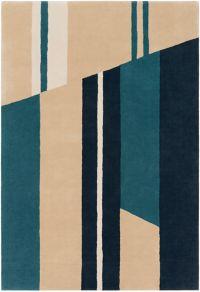 Surya Lina 8' x 10' Hand-Tufted Area Rug in Emerald