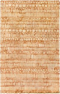 Surya Natural Affinity Pebbles 5' x 7'6 Area Rug in Cream