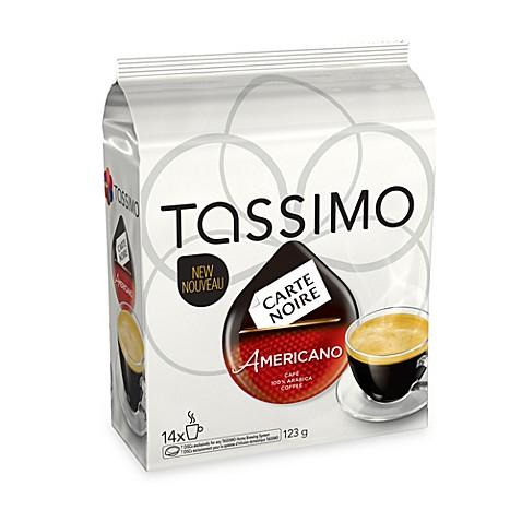 carte noire americano coffee t discs for tassimo beverage system bed bath beyond. Black Bedroom Furniture Sets. Home Design Ideas