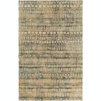 Surya Natural Affinity Pebbles 5' x 7'6 Area Rug in Butter
